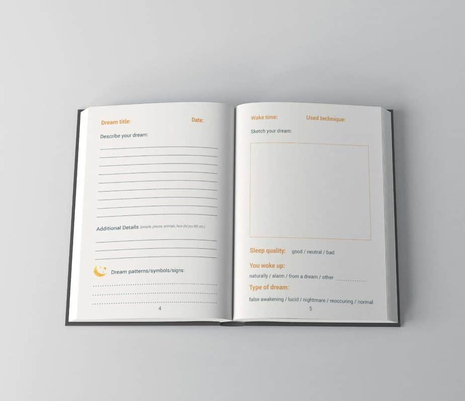 How To Keep A Dream Journal & Free Dream Journal Template - Lucid Dream Society